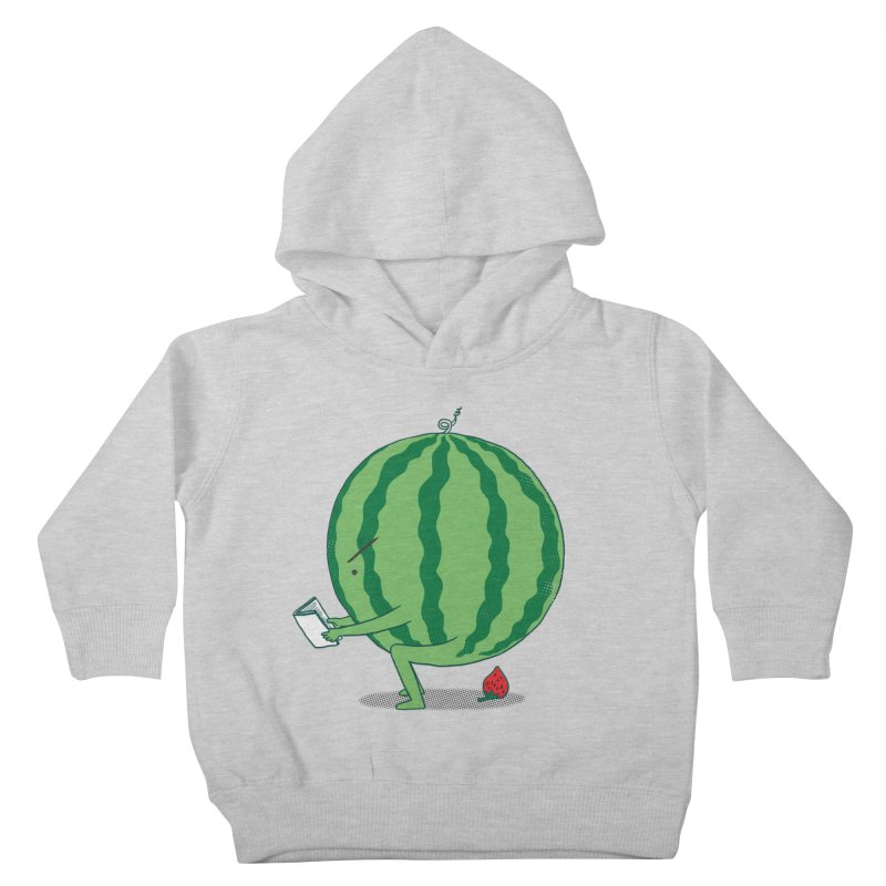 The Making of Strawberry Kids Toddler Pullover Hoody by ilovedoodle's Artist Shop