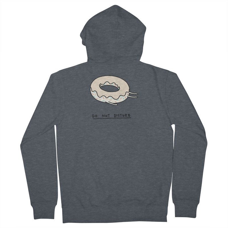 Do Nut Disturb Men's French Terry Zip-Up Hoody by ilovedoodle's Artist Shop