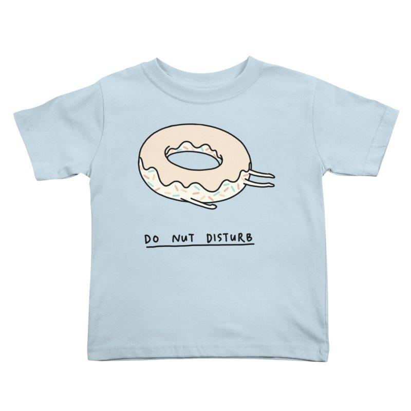 Do Nut Disturb Kids Toddler T-Shirt by ilovedoodle's Artist Shop