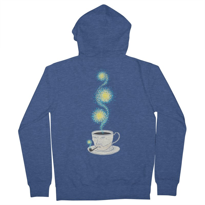 Starry starry Coffee Men's French Terry Zip-Up Hoody by ilovedoodle's Artist Shop