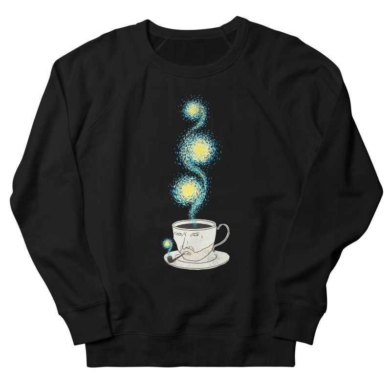 Starry starry Coffee Men's French Terry Sweatshirt by ilovedoodle's Artist Shop