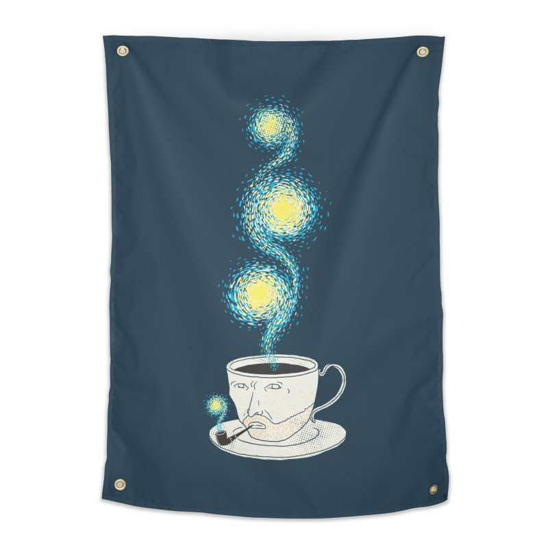 Starry starry Coffee Home Tapestry by ilovedoodle's Artist Shop