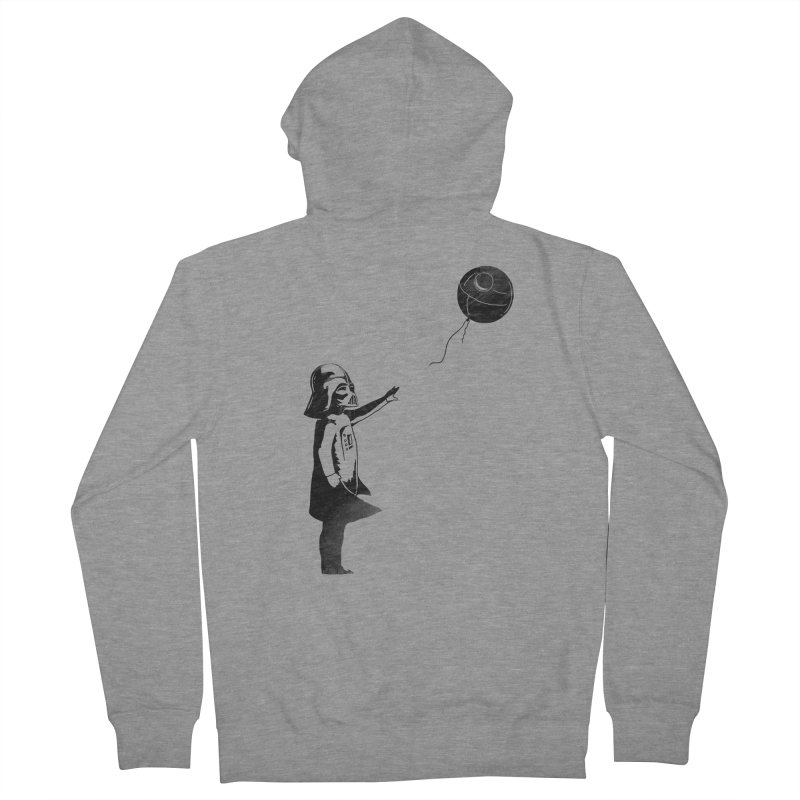 Let go your dark side Women's French Terry Zip-Up Hoody by ilovedoodle's Artist Shop