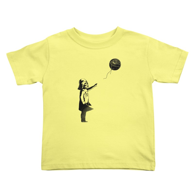 Let go your dark side Kids Toddler T-Shirt by ilovedoodle's Artist Shop
