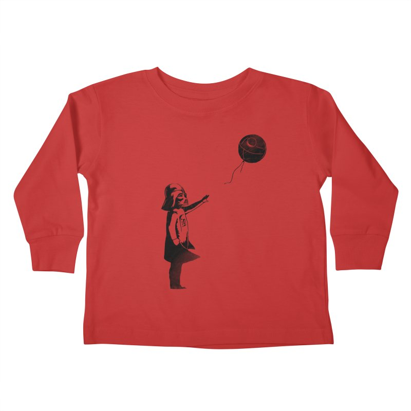Let go your dark side Kids Toddler Longsleeve T-Shirt by ilovedoodle's Artist Shop