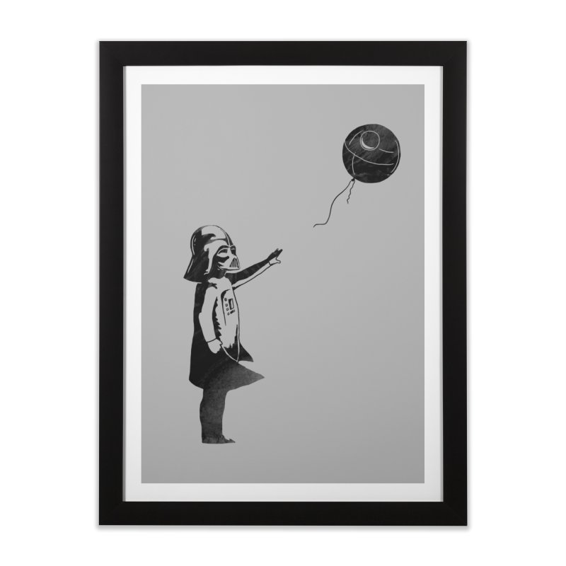 Let go your dark side Home Framed Fine Art Print by ilovedoodle's Artist Shop