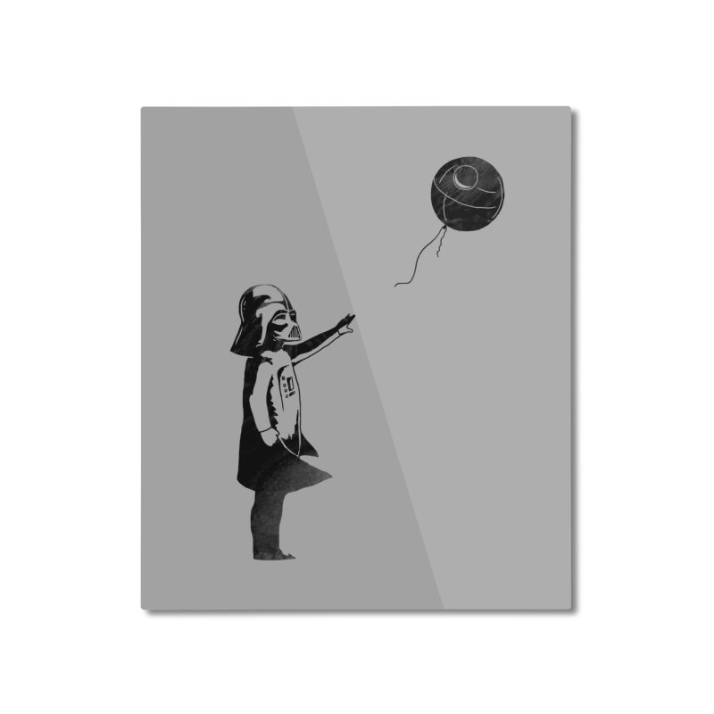 Let go your dark side Home Mounted Aluminum Print by ilovedoodle's Artist Shop