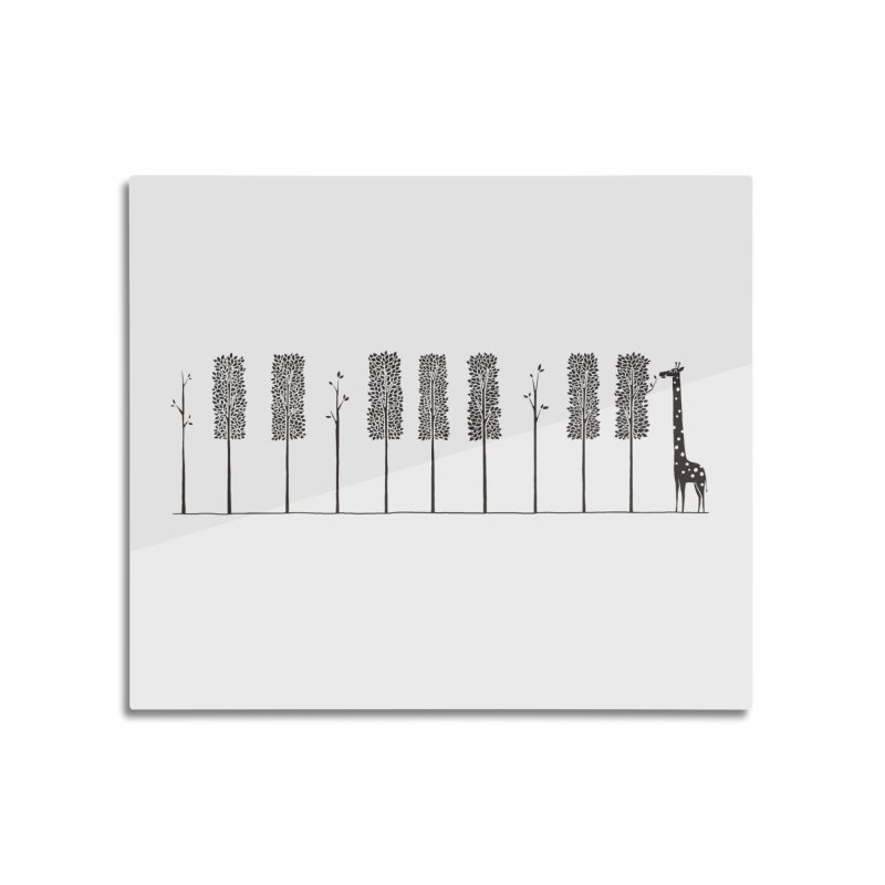 The Pianist Home Mounted Aluminum Print by ilovedoodle's Artist Shop