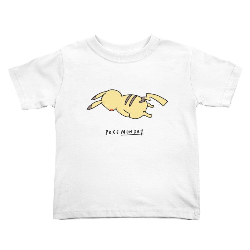 PokeMonday Kids Toddler T-Shirt by ilovedoodle's Artist Shop