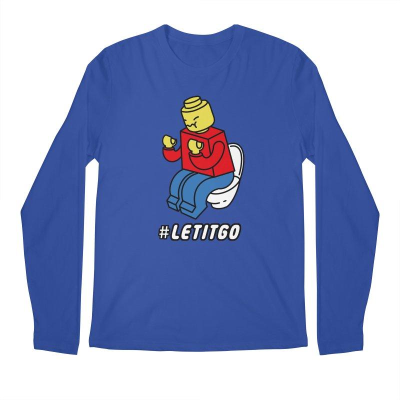 LEt it GO Men's Regular Longsleeve T-Shirt by ilovedoodle's Artist Shop