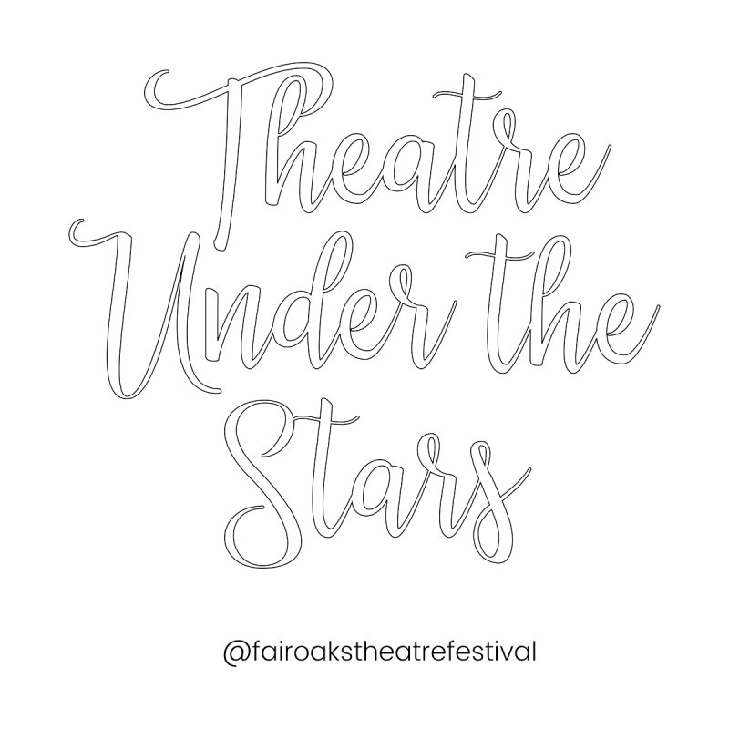 Theatre Under the Stars for you to color! Men's T-Shirt by ilovefairoaks's Artist Shop