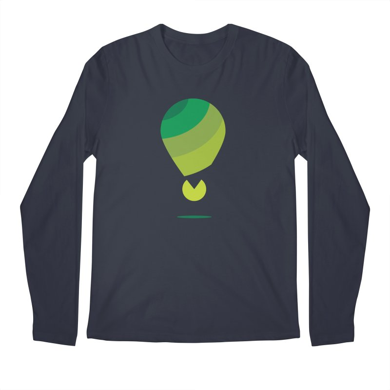 Midnight Hot Air Balloon Men's Longsleeve T-Shirt by Avo G'day!