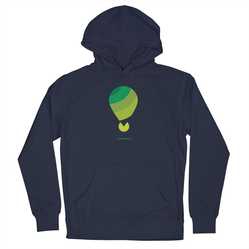 Midnight Hot Air Balloon Men's Pullover Hoody by Avo G'day!
