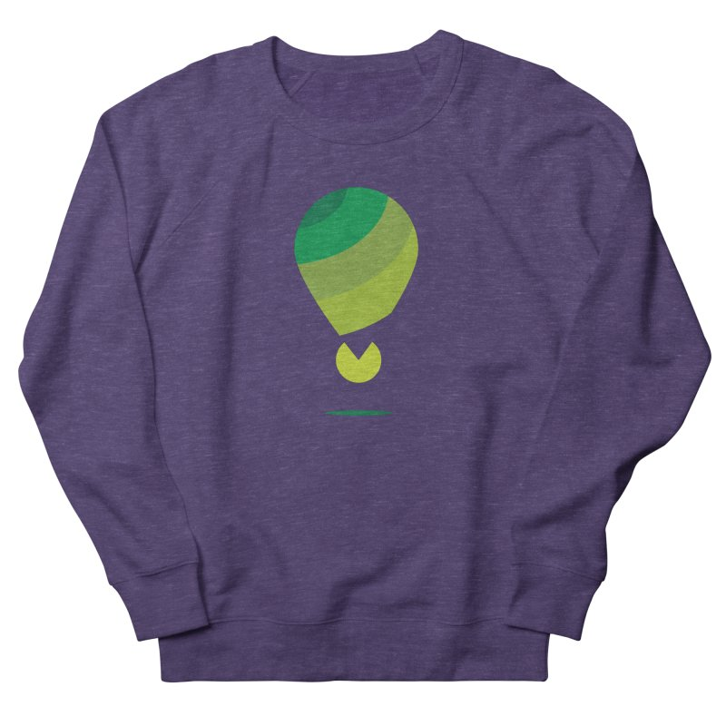 Midnight Hot Air Balloon Men's Sweatshirt by Avo G'day!