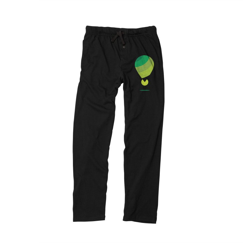 Midnight Hot Air Balloon Men's Lounge Pants by Avo G'day!