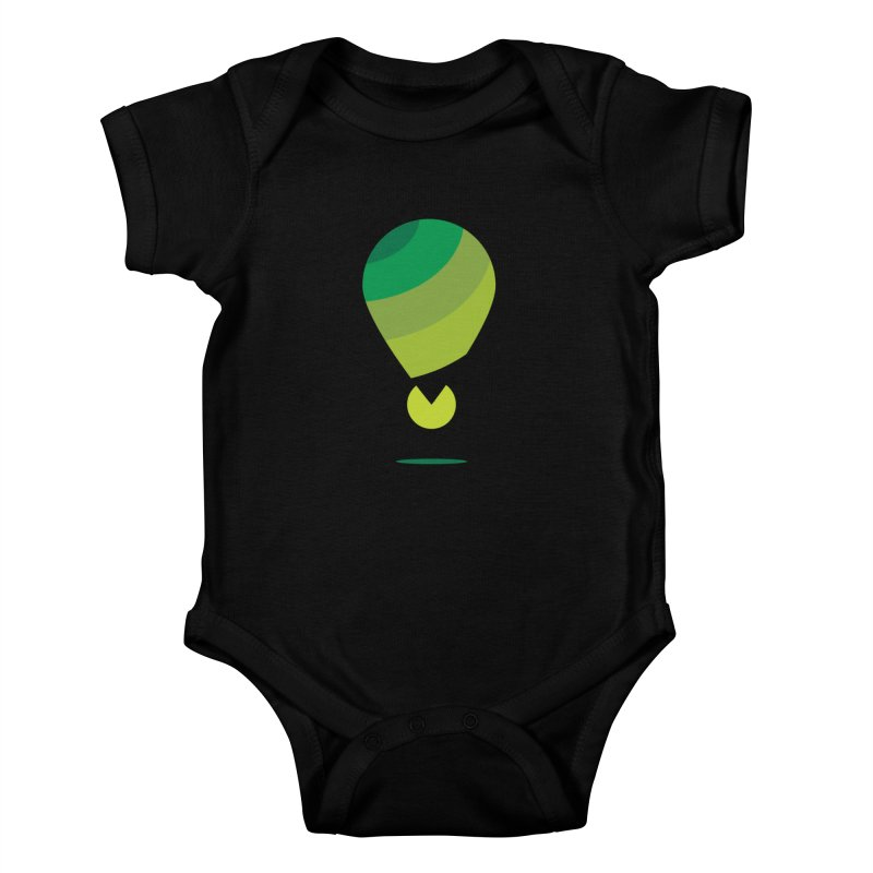 Midnight Hot Air Balloon Kids Baby Bodysuit by Avo G'day!