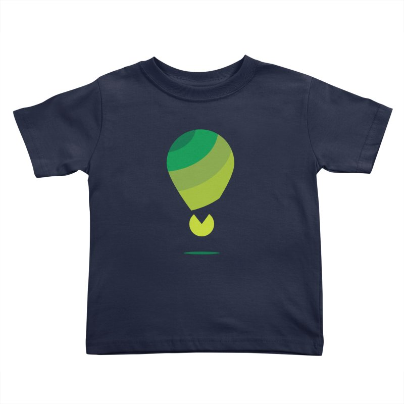 Midnight Hot Air Balloon Kids Toddler T-Shirt by Avo G'day!