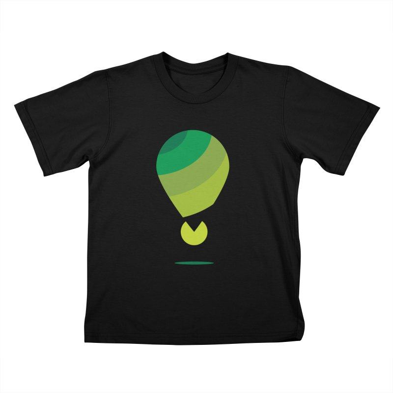 Midnight Hot Air Balloon Kids T-Shirt by Avo G'day!