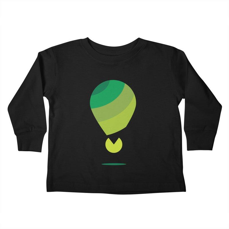 Midnight Hot Air Balloon Kids Toddler Longsleeve T-Shirt by Avo G'day!