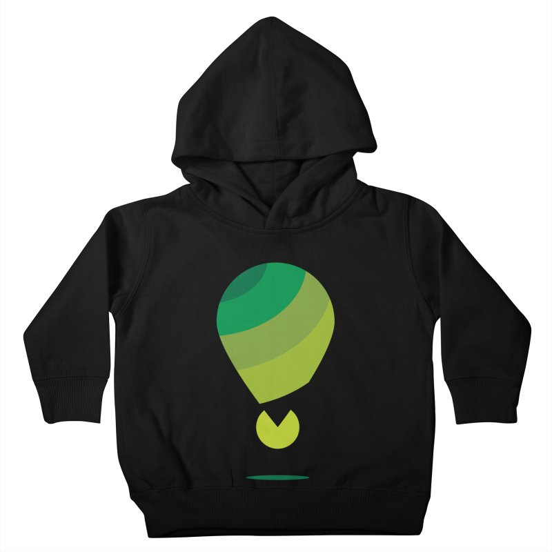 Midnight Hot Air Balloon Kids Toddler Pullover Hoody by Avo G'day!