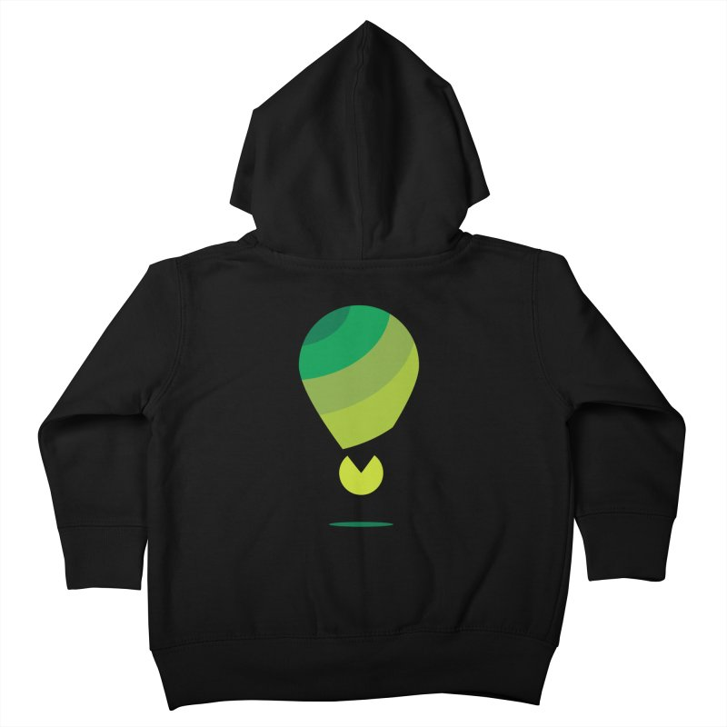 Midnight Hot Air Balloon Kids Toddler Zip-Up Hoody by Avo G'day!