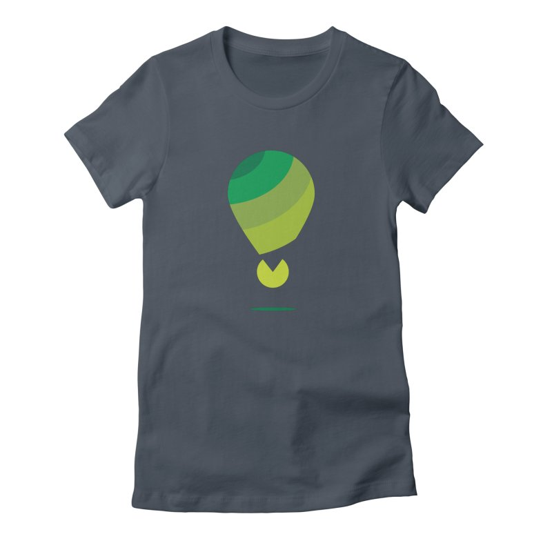 Midnight Hot Air Balloon Women's T-Shirt by Avo G'day!