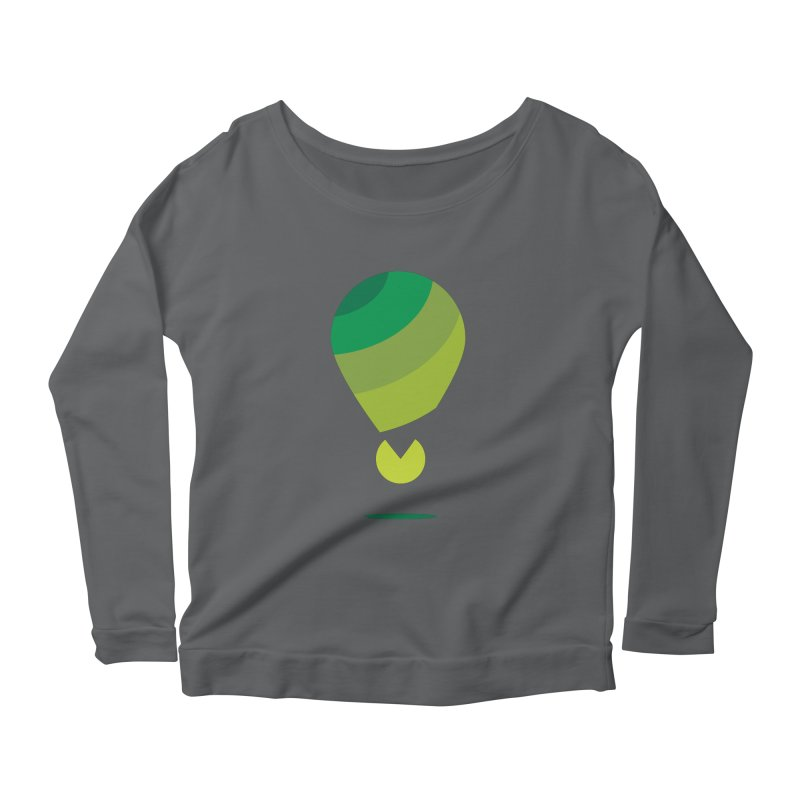 Midnight Hot Air Balloon Women's Longsleeve T-Shirt by Avo G'day!