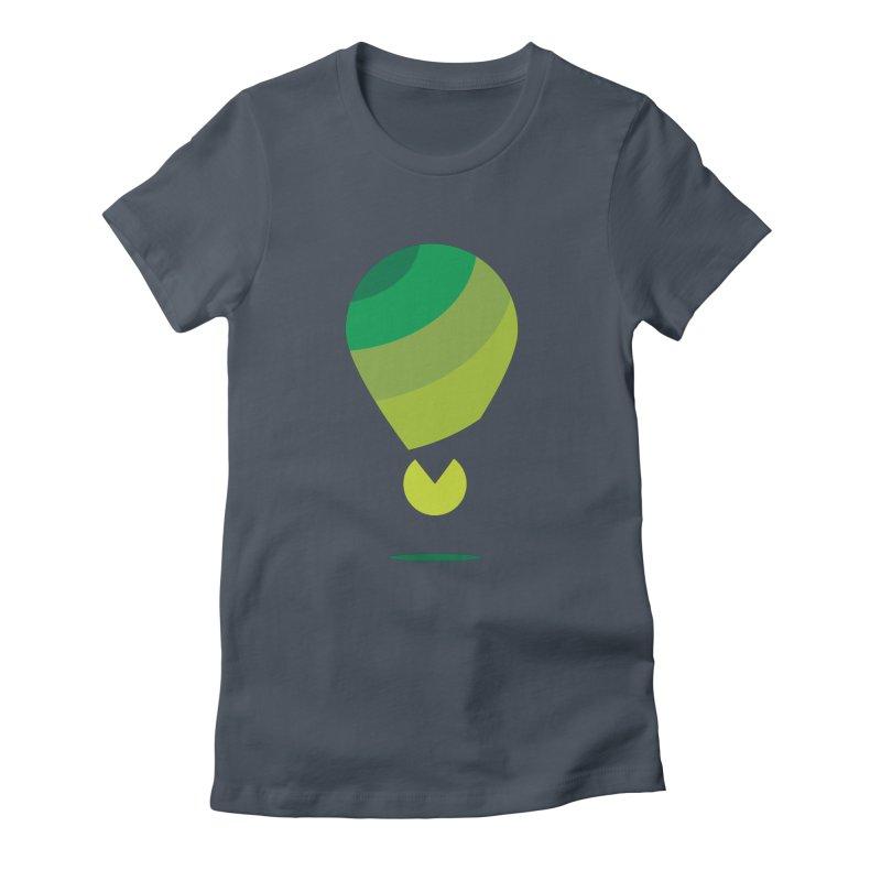 Midnight Hot Air Balloon Women's T-Shirt by Avo G'day!