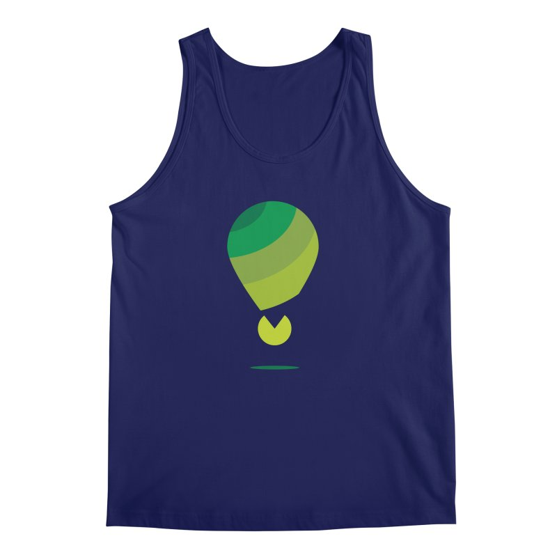 Midnight Hot Air Balloon Men's Regular Tank by Avo G'day!