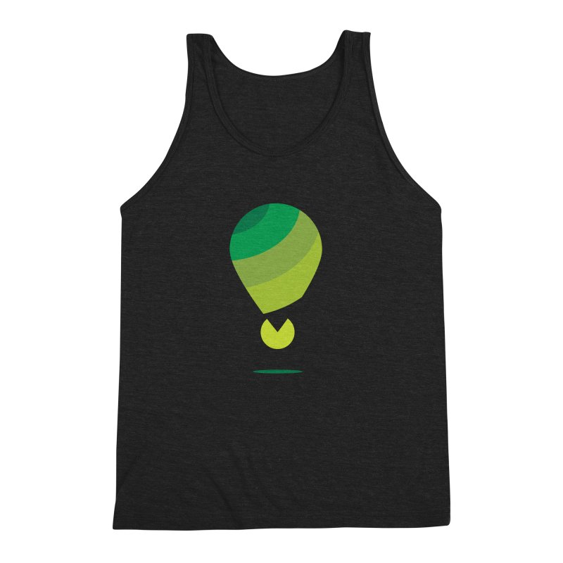 Midnight Hot Air Balloon Men's Triblend Tank by Avo G'day!