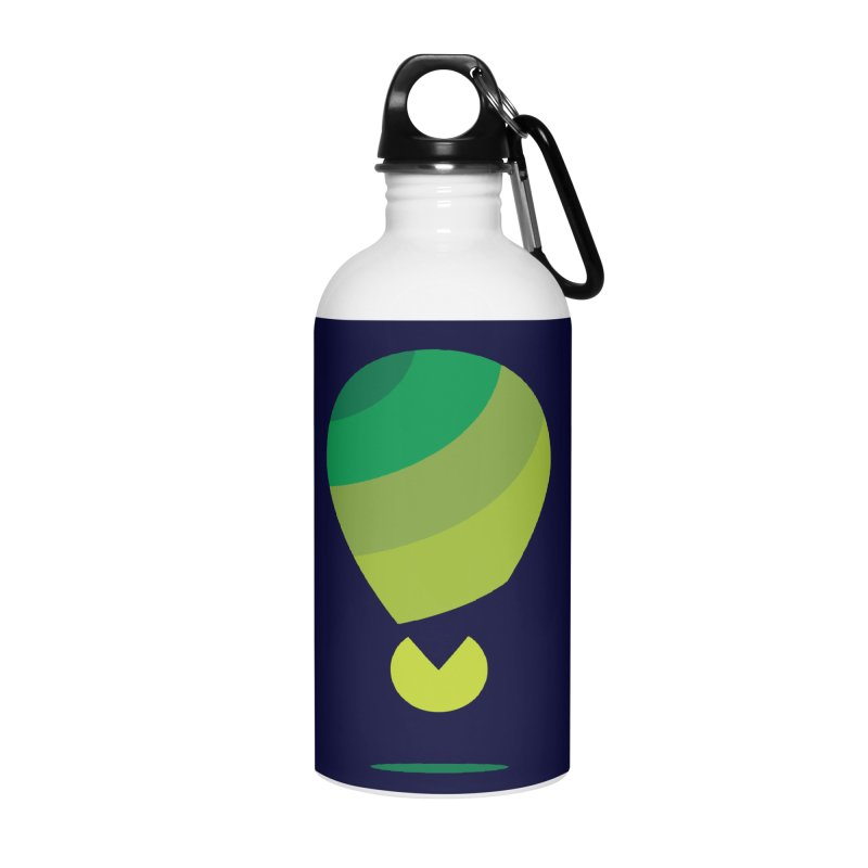Midnight Hot Air Balloon Accessories Water Bottle by Avo G'day!
