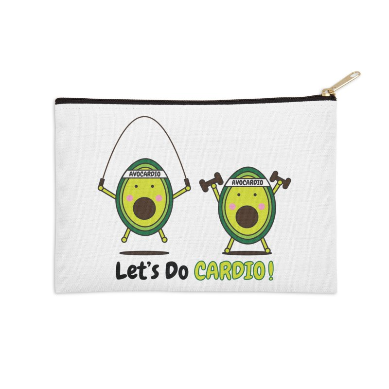 Let's Do Cardio! Accessories Zip Pouch by Avo G'day!
