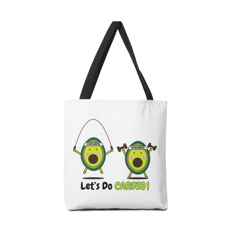 Let's Do Cardio! Accessories Tote Bag Bag by Avo G'day!