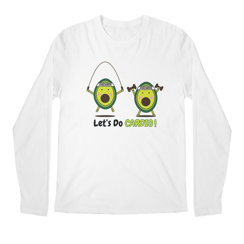 Let's Do Cardio! Men's Longsleeve T-Shirt by Avo G'day!
