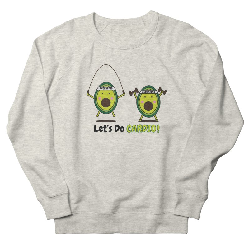 Let's Do Cardio! Men's Sweatshirt by Avo G'day!