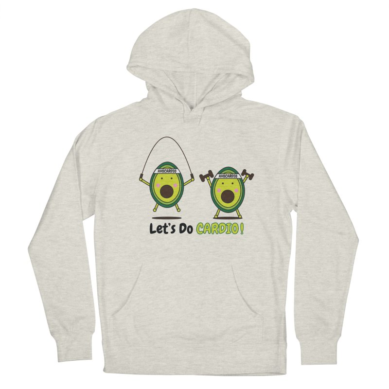 Let's Do Cardio! Men's Pullover Hoody by Avo G'day!