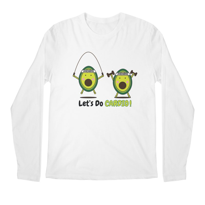Let's Do Cardio! Men's Longsleeve T-Shirt by Avo G'day!