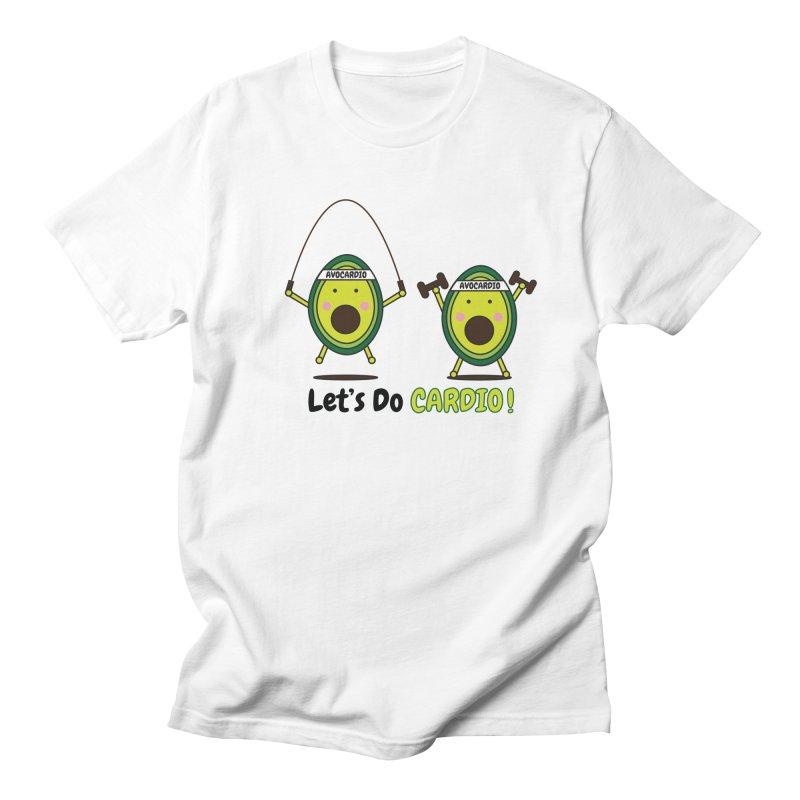 Let's Do Cardio! Men's Regular T-Shirt by Avo G'day!