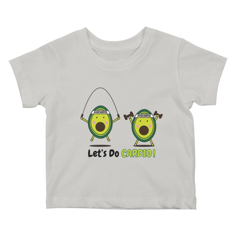 Let's Do Cardio! Kids Baby T-Shirt by Avo G'day!