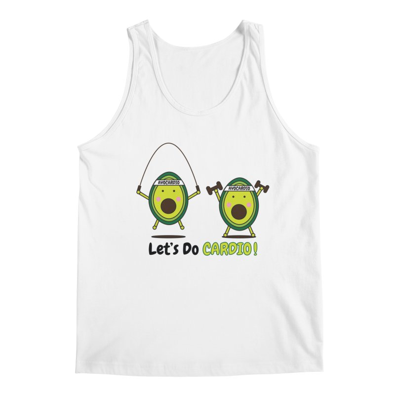 Let's Do Cardio! Men's Regular Tank by Avo G'day!