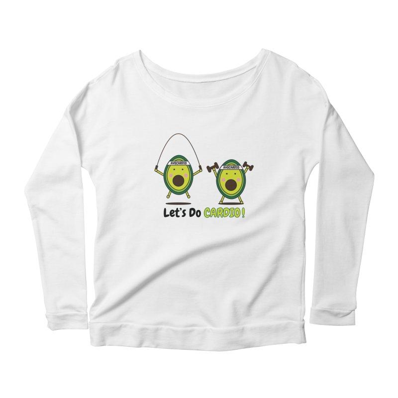 Let's Do Cardio! Women's Longsleeve T-Shirt by Avo G'day!