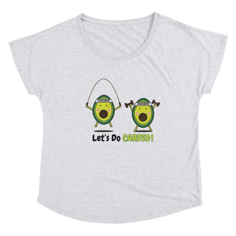 Let's Do Cardio! Women's Scoop Neck by Avo G'day!