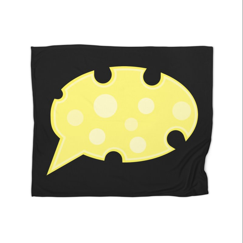 Say Cheese! Home Fleece Blanket Blanket by Avo G'day!