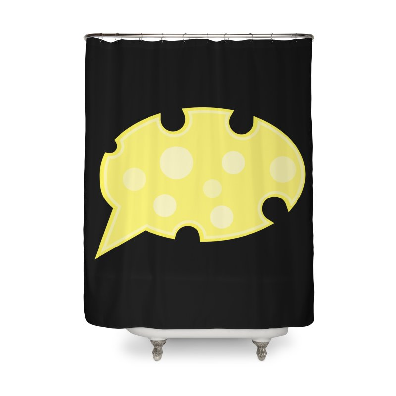 Say Cheese! Home Shower Curtain by Avo G'day!