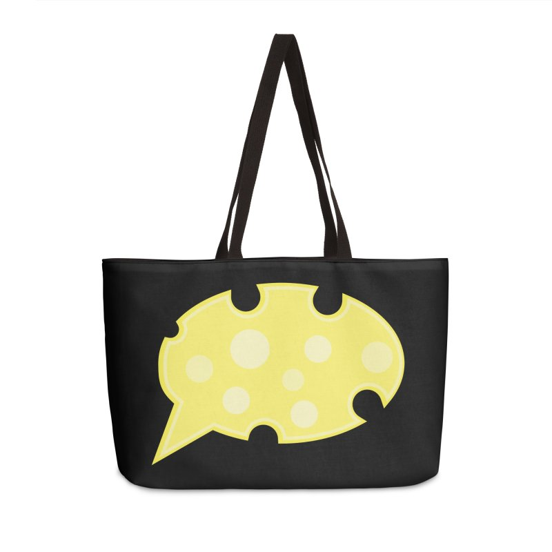 Say Cheese! Accessories Weekender Bag Bag by Avo G'day!