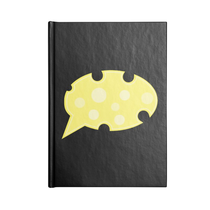 Say Cheese! Accessories Blank Journal Notebook by Avo G'day!