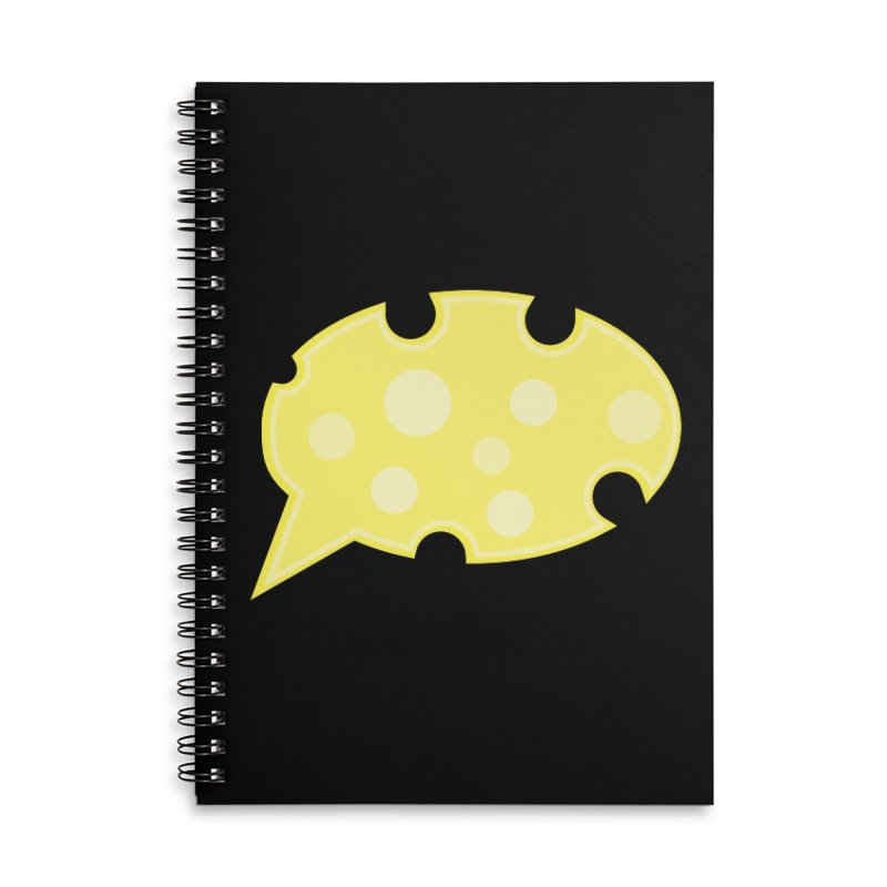 Say Cheese! Accessories Notebook by Avo G'day!