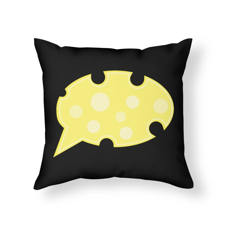 Say Cheese! Home Throw Pillow by Avo G'day!