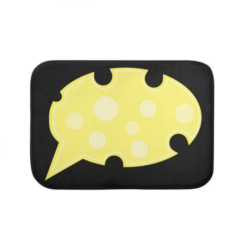 Say Cheese! Home Bath Mat by Avo G'day!