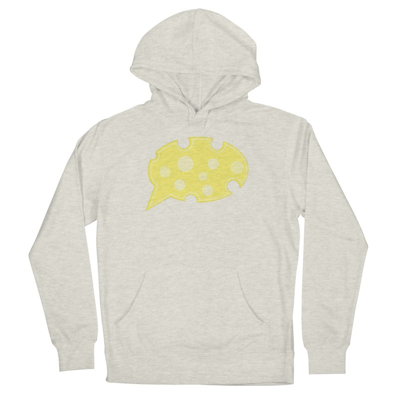 Say Cheese! Men's French Terry Pullover Hoody by Avo G'day!